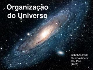 Organização  do Universo