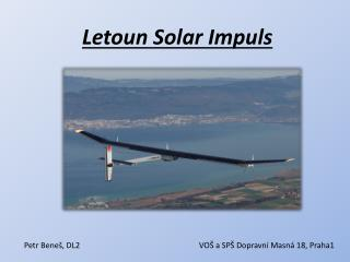 Letoun  Solar  Impuls