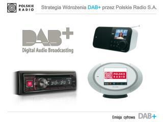 Strategia Wdrożenia  DAB+ przez  Polskie Radio S.A.