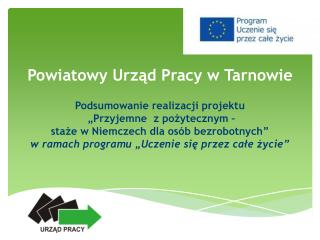 Powiatowy Urząd Pracy w Tarnowie