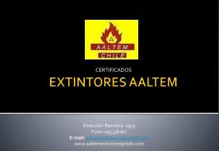 EXTINTORES AALTEM