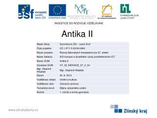 Antika  II