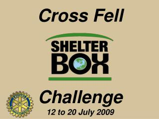 Cross Fell Challenge 12 to 20 July 2009