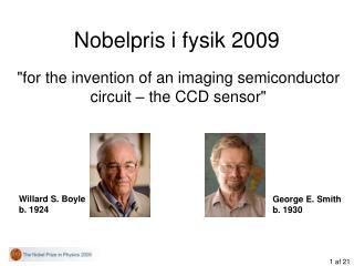 Nobelpris i fysik 2009