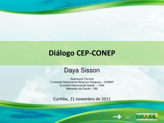 Diálogo CEP-CONEP
