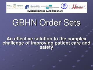 GBHN Order Sets