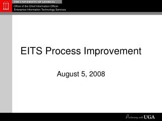 EITS Process Improvement