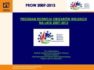 PROW 2007-2013