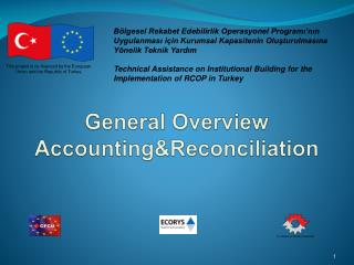 General Overview Accounting&Reconciliation