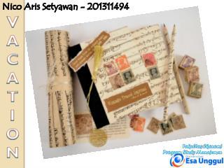 Nico Aris Setyawan  - 201311494