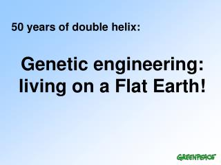 50 years of double helix: