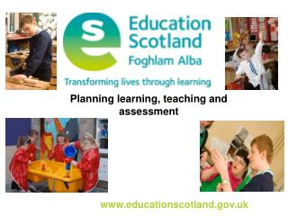 Planning learning, teaching and assessment