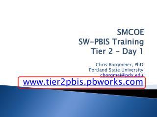 SMCOE SW-PBIS Training Tier 2 – Day 1