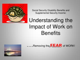 Why do people          going to work while receiving SSDI/SSI benefits?
