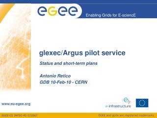 glexec /Argus pilot service