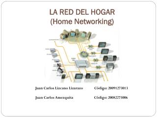 LA RED DEL HOGAR  ( Home  Networking )