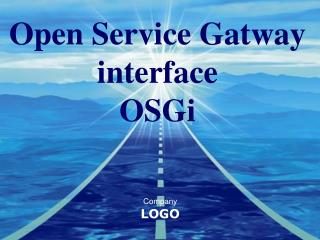 Open Service Gatway interface OSGi