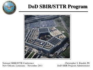 DoD SBIR/STTR Program
