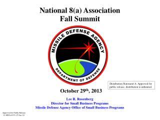 National 8(a) Association  Fall Summit