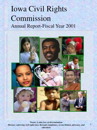 Iowa Civil Rights Commission Annual Report-Fiscal Year 2001