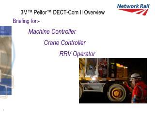 3M™ Peltor™ DECT-Com II Overview