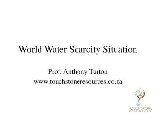 World Water Scarcity Situation