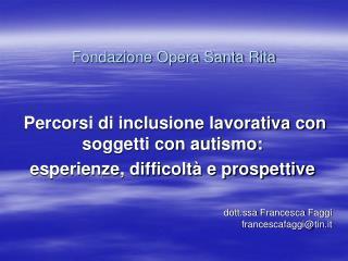 Fondazione Opera Santa Rita