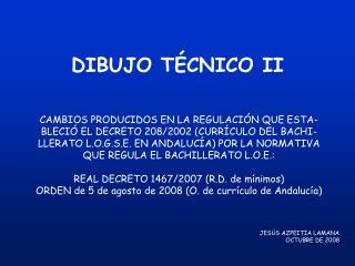 DIBUJO T CNICO II