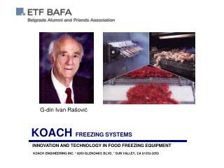 KOACH  FREEZING SYSTEMS