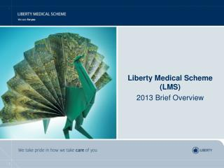 Liberty Medical Scheme (LMS)  2013 Brief Overview