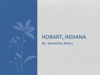 Hobart, Indiana