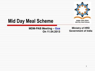 Mid Day Meal Scheme