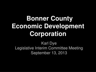 Bonner County Economic Development Corporation