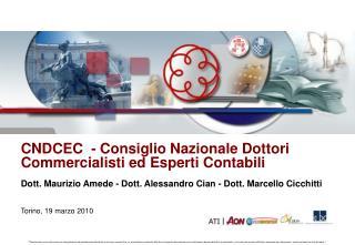 CNDCEC  - Consiglio Nazionale Dottori  Commercialisti ed Esperti Contabili