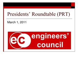 Presidents' Roundtable (PRT)