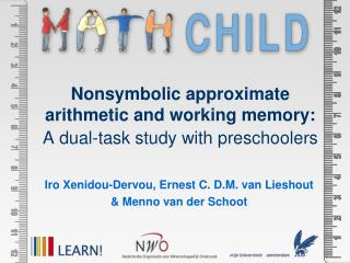 Nonsymbolic approximate arithmetic and working memory:  A dual-task study with preschoolers