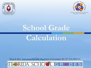 School Grade Calculation