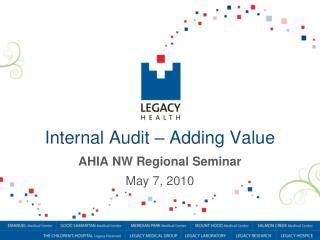 Internal Audit – Adding Value