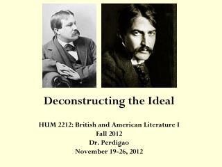 Deconstructing the Ideal