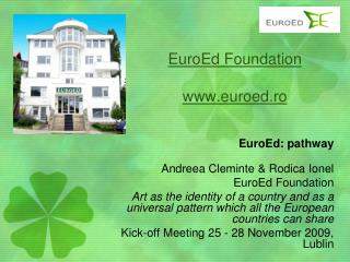 EuroEd Foundation euroed.ro