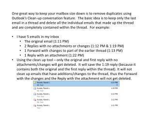 1. Original Email 1:11 PM