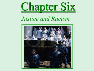 Justice and Racism
