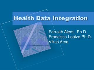 Health Data Integration