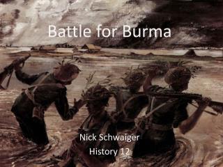Battle for Burma