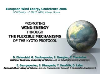 European Wind Energy Conference 2006 27 February - 2 March 2006,  Athens, Greece