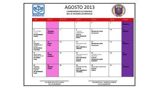 AGOSTO  2013 DEPARTAMENTO  DE PEDIATRÍA         ROL  DE SESIONES ACADÉMICAS