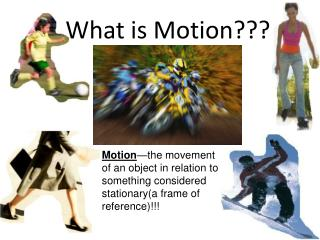 What is Motion???