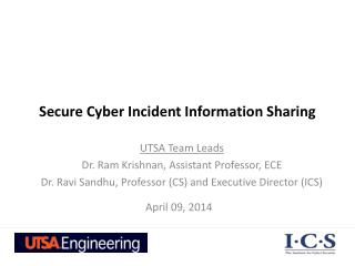 Secure Cyber Incident Information Sharing
