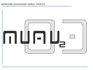 MINIATURE UNMANNED AERIAL VEHICLE