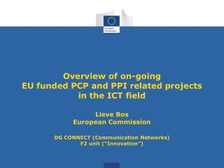 Examples first EU funded cross-border PCPs Ageing well